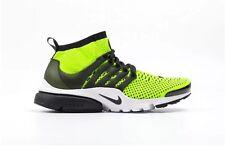 Nike Air Presto Flyknit Ultra 835570-701 Volt/Black-White Mens Shoes Size 13