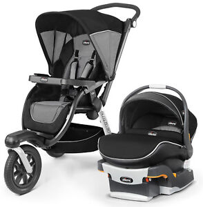 Image Is Loading Chicco Activ3 Stroller W KeyFit 30 Zip Air