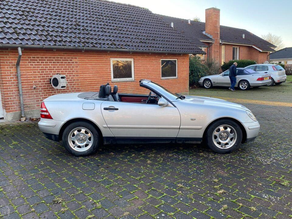 Mercedes SLK200, 2,0 aut., Benzin