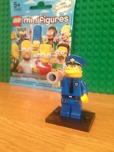 LEGO SERIES 1 SIMPSONS CHIEF WIGGUM. MINT CONDITION