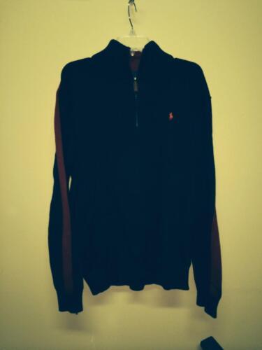 Polo Sweatshirt Rot Xl Vintage By Pullover Blau Lauren Ralph Herren BdzZv0x