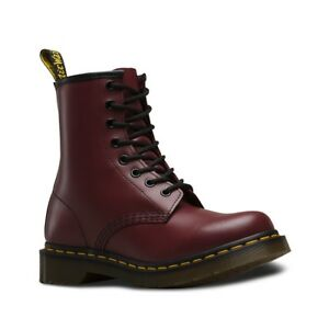 Dr-Martens-Mens-Unisex-Boots-1460-R11822600-Cherry-Red-Rogue-Smooth-Leather