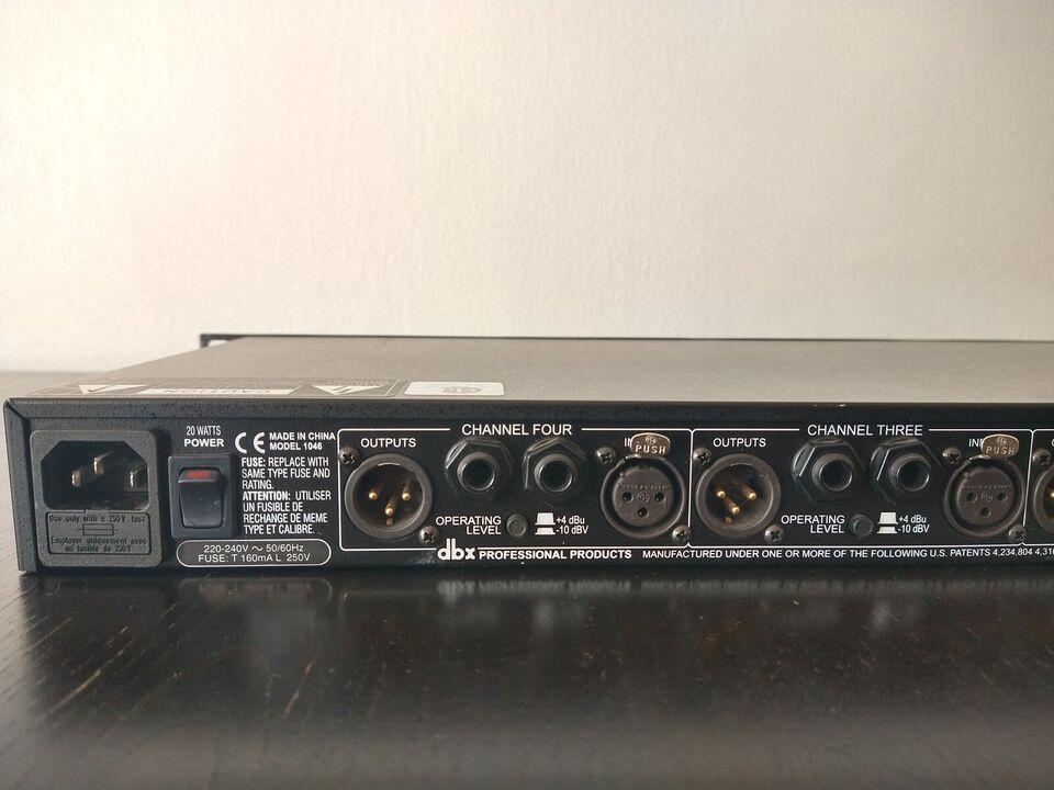 4 channel Compressor/Limiter, dbx 1046