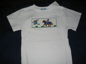 Boys-Smocked-Tee-shirt-4-5-KNIGHT-DRAGON-New-NWT-Vive-La-Fete