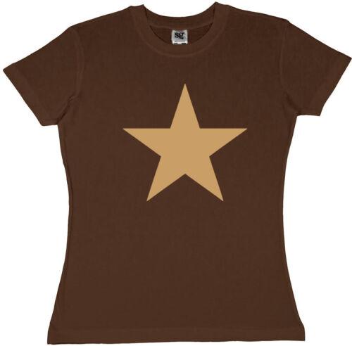 CREME STAR Shirt chocolate Girl-T-Shirt braun