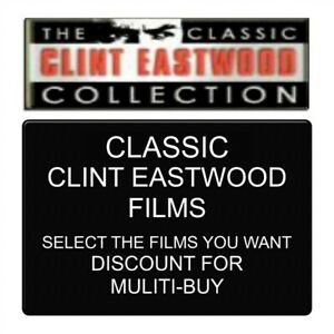 The-Classic-Clint-Eastwood-Collection-14-Single-Purchase-Dvds-New-amp-V-G