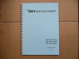 bsa d1 d3 d5 d7 125 150 175 bantam factory workshop manual 1948 rh ebay co uk workshop manual download workshop manual 1984 honda gl1200i