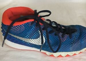 new concept 295d8 374d6 NIKE Kyrie 1 (GS) Blue Red/ Orange Shoes Used W Box 7 Y | eBay