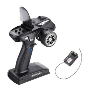 DUMBORC-X6-2-4G-6CH-RC-Radio-Transmitter-with-X6F-Receiver-for-RC-Car-Vehicl-B9H