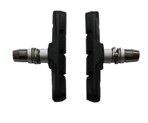 72 mm schwarz Elvedes Bremsschuhe 2er Set