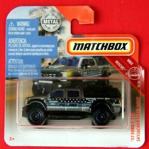 MATCHBOX-2019-71-FORD-F-350-SKYJACKER-SUPER-DUTY-50-100-NEU-amp-OVP