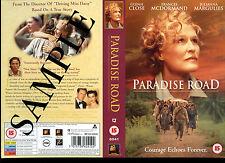 Paradise Road - Glenn Close - Video Promo Sample Sleeve/Cover #38522