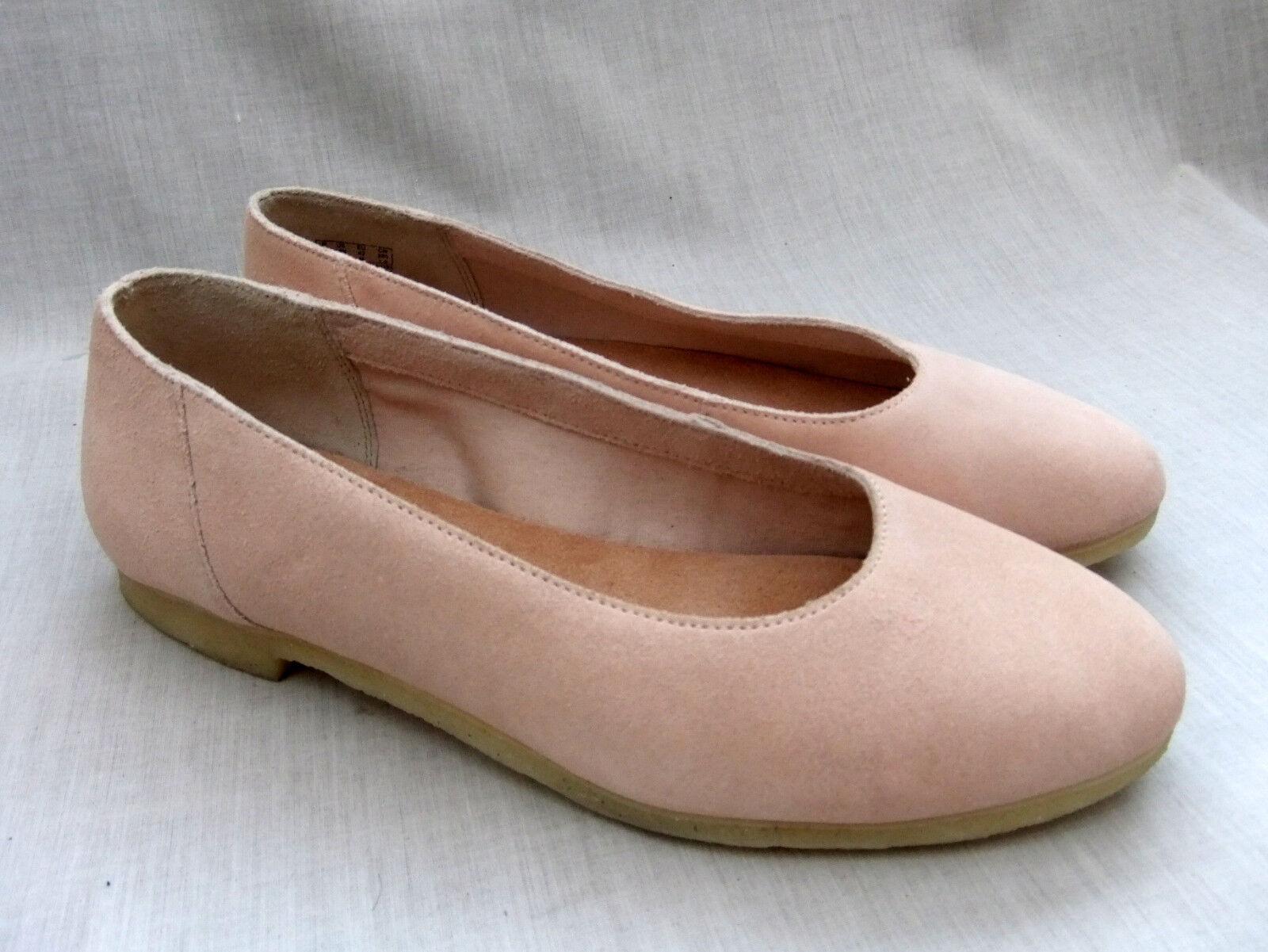Nuevo CLARKS CLARKS CLARKS ORIGINALS Ffion Ivy para Mujer Luz rosado Zapatos De Gamuza Tamaño 8 42  artículos de promoción