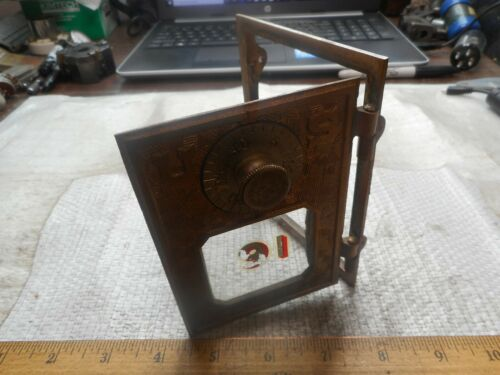 RARE DOOR HARD TO FIND EXCELLENT COND EAGLE LOCK COMPANY POST OFFICE BOX DOOR