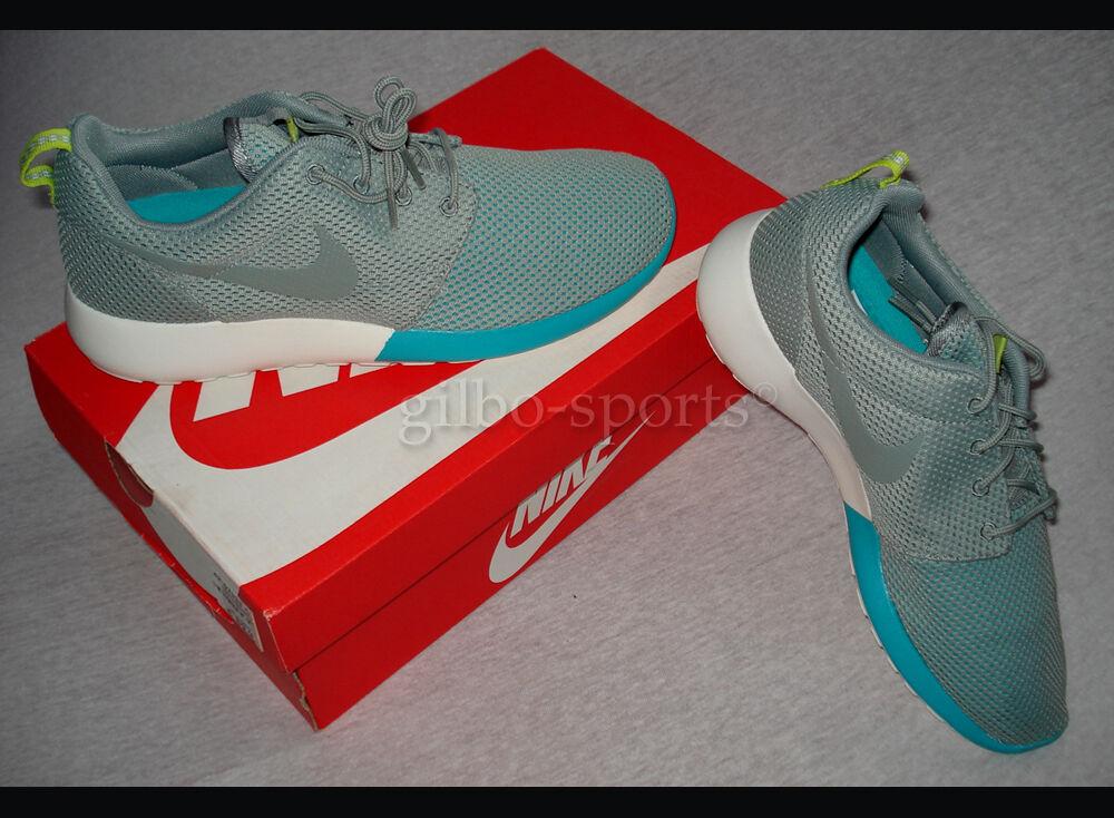 Nike Rosherun Grey Blue Gr. 40 41 42 43 - Neu - 511881 300 Roshe One