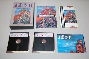 Sangokushi-II-2-Japan-Nec-PC-9801-pc98-Game