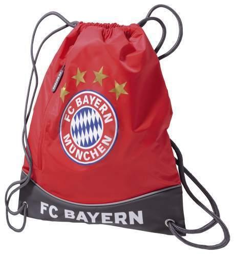FC Bayern Munich Sport sachet rouge Turnbeutel Matte cendres Sac de sport
