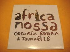 Cardsleeve Single CD CESARIA EVORA & ISMAEL LO Africa Nossa RARE PROMO 1TR 2006