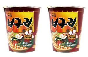 Korean-Instant-Noodle-NONGSHIM-NeoGuRi-2pack-Cup-Ramen-Ramyun