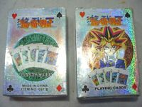 Yugioh Poker Style Playing Cards Lot Of 2 Packs Of 52 Plus 2 Jokers