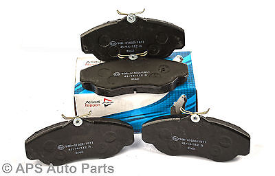 For Renault Grand Scenic MK2 1.9 dCi 18mm Thick Comline Front Brake Pads Set