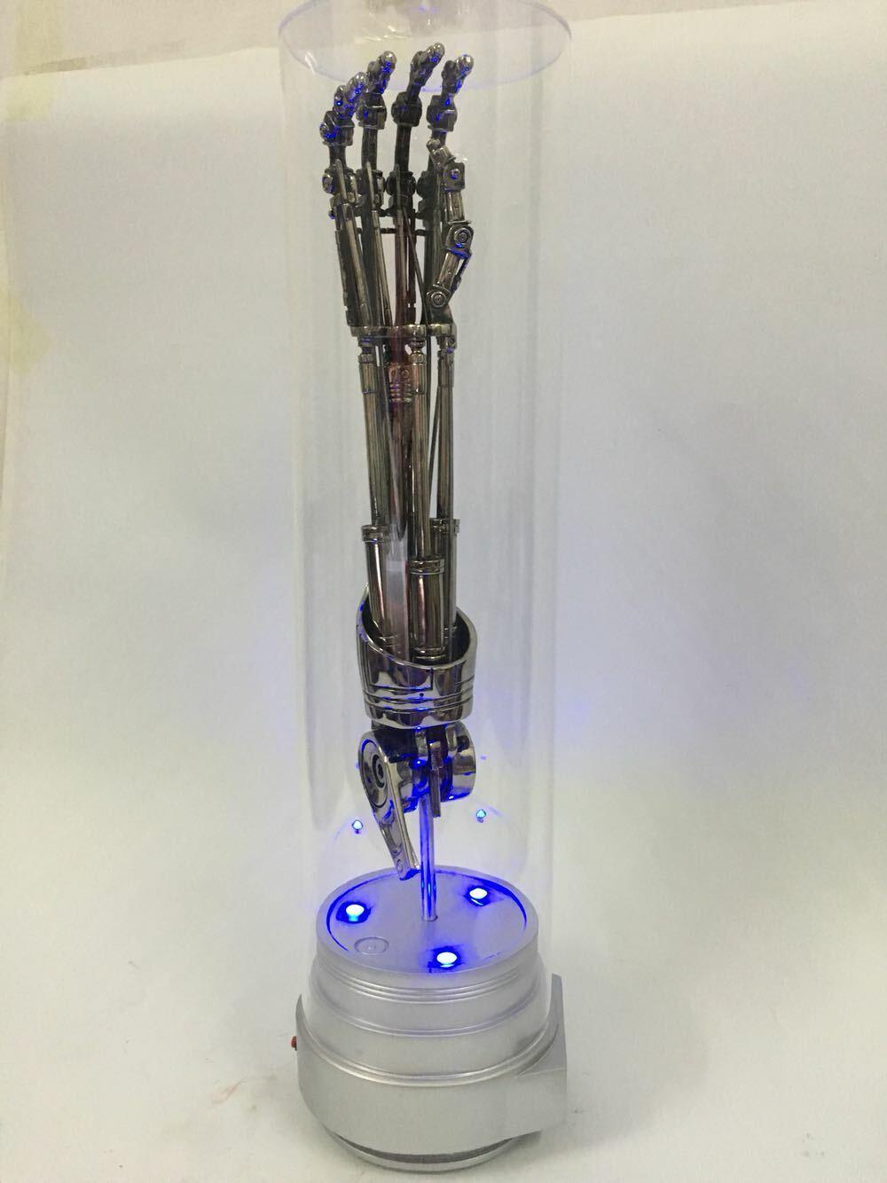Terminator 2 T800 Endoarm 1  1 liv -Storlek Arm Endoskeleton modellllerlerl Staty Prop