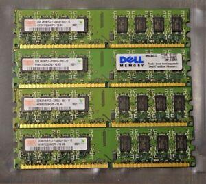 8-Gb-4x2-Gb-Ddr2-Pc2-5300-5300u-Ddr2-667-Mhz-De-Memoria-Dimm-Pc-Escritorio-Ram-240-Pin