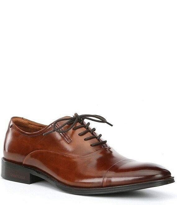 Kenneth Cole Men's Dress Shoe Lace Up Tully Lace Up Size 10