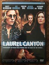 Christian Bale Kate Beckinsale LAUREL CANYON ~ 2002 Indie Drama US Region 1 DVD
