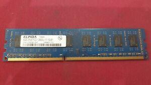 ELPiDA-1x-4-Go-4-Go-Memoire-RAM-DDR3-2RX8-PC3-12800U-11-10-b1-EBJ41UF8BDW0-GN-F