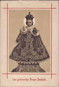 Prag-Jesus-Nino-Cuadro-Santos-Amria-Imagen-Milagrosa-Bohemia-B-6629