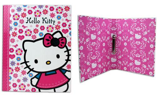 Hello Kitty Ringbuch Schulordner Hefter  Ordner A4