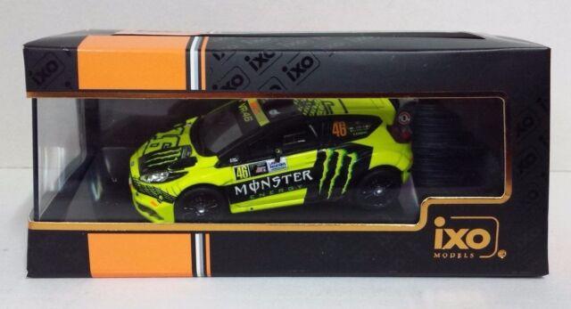 IXO 1/43 VALENTINO ROSSI 46 FORD FIESTA RS WRC MONZA RALLY SHOW 2015 NEW RAM620