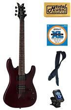Dean Vendetta XM Satin Natural Electric Guitar FREE Strings Tuner Strap Cloth ,