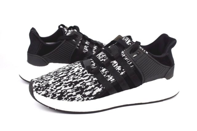 Adidas EQT Boost Support 93 17 BZ0584 Core Black White Size 9.5 NIB SOLD OUT 09a1f649bb9a