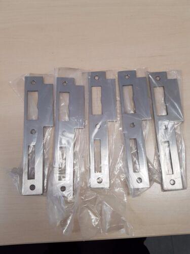Lappenschließblech für DIN L silber 5 Stück Standard