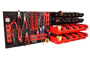Grosse-58x78cm-Wandmontage-Board-Container-Werkzeughalter-Organiser-Behaelter