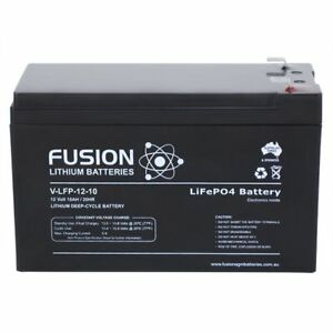 Fusion-12V-10Ah-V-LFP-12-10-Lithium-Deep-Cycle-Battery