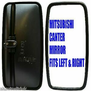 Details about FOR MITSUBISHI CANTER TRUCK REPLACEMENT WING MIRROR & HOUSING  NONE HEATED