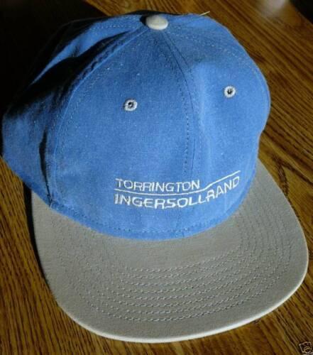 Hat ballcap IR INGERSOLL RAND TORRINGTON Cap blue w// tan visor NEW