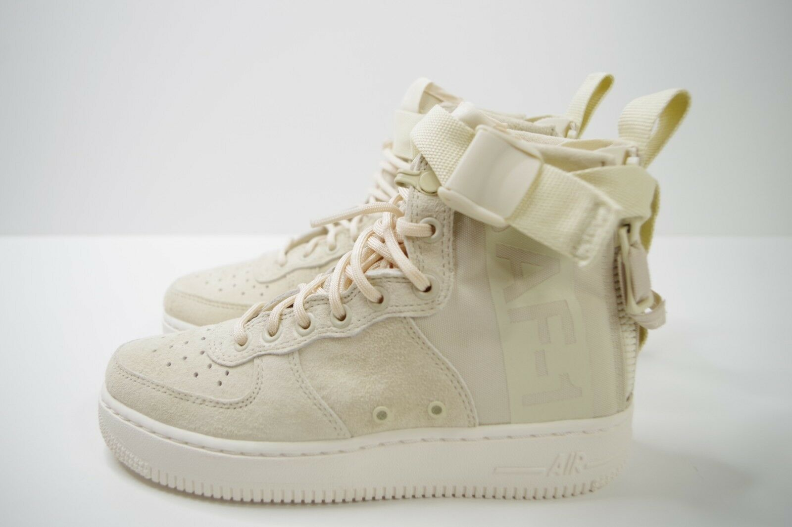 W NIKE SF AF1 MID SPECIAL FIELD FOSSIL SIZE US 6 AA3966 202
