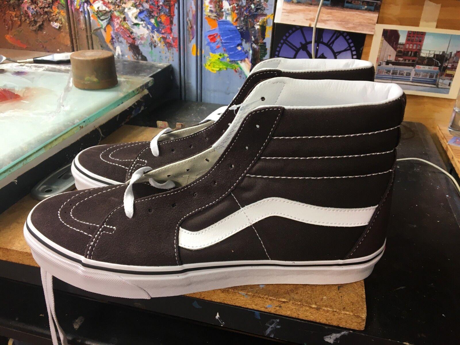 Vans Vans Vans SK8-Hi Chocolate Torte True bianca Dimensione US 11.5 Uomo VN0A38GEU5Z 97738a