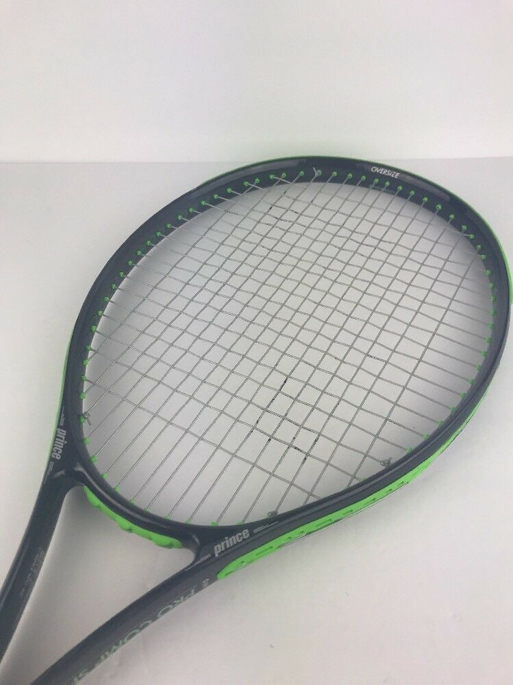 PRINCE PRO COMP SPORT WideBody TENNIS RACQUET w  Strings Oversize sz. 4 1 2