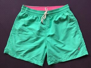 a8ce6a7c0b Polo Ralph Lauren Swim Shorts Traveler Trunk Bayside Green Size S or ...