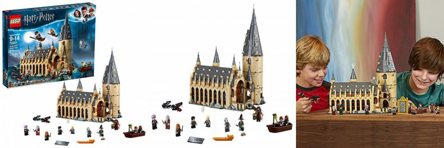 LEGO 75954 Harry Potter Hogwarts Great Great Great Hall Building Kit - 878 Pieces d728ac