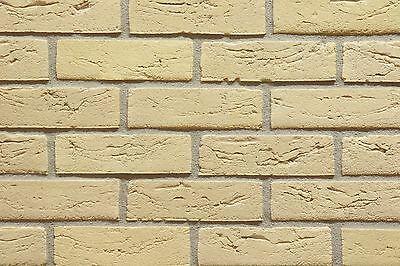 Handform-verblender Wdf Bh1030 Gelb Besandet Klinker Vormauersteine Fassade