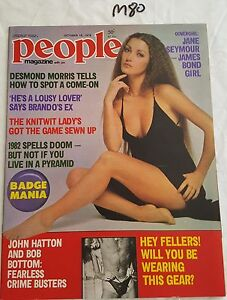 PEOPLE-MAGAZINE-1979-OCT-18-JANE-SEYMOUR-COVER-NEAR-MINT-AUSTRALIAN-EDITION