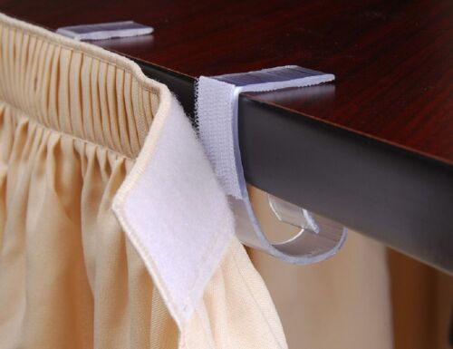 """GENUINE VELCRO® 50 SUPER FITS TABLE 1 1//2/"""" TO 2 1//2/"""" LARGE TABLE SKIRT CLIPS"""