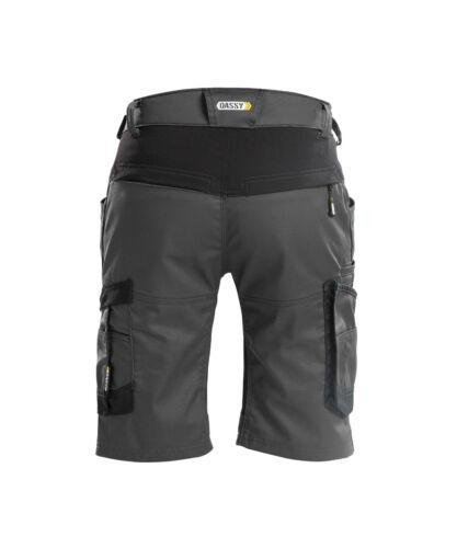 DASSY® Axis Workwear Short mit Stretch Arbeitsshorts kurze Hose Bermuda Herren