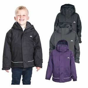 a620a83f0b3 Details about Trespass Cornell Kids Waterproof Winter Jacket Windproof  Hooded Boys Girls Coat